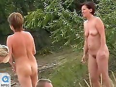 4 movies - Horny male admiring amazing stripped bodies of the sexy frisky females