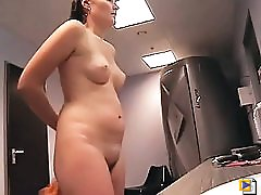 4 movies - Unseen secret photos vids of totally naked babes fucking made in the locker