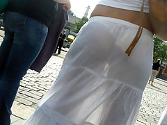 8 pictures - sheer panty upskirt pictures