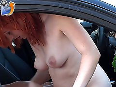 4 movies - Some stupid coed gives head in the car