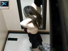 3 movies - Big Titty Girl Caught On Hidden Fitting Room Spycam